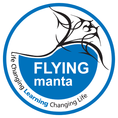 Flying Manta Logo