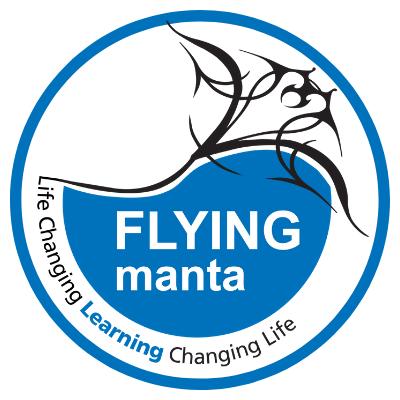 Flying Manta Logo
